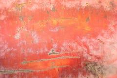 生锈的金属盘区 库存图片