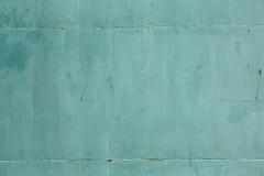 生锈的金属纹理,生锈的金属背景,绿色 免版税库存图片