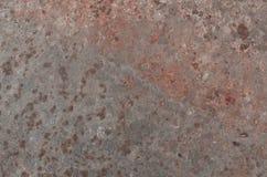 生锈的金属背景 免版税库存照片