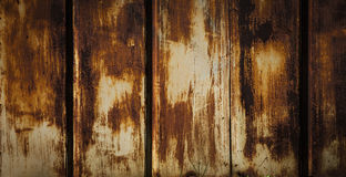 生锈的金属详细的结构  铁纹理 免版税库存图片