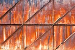 生锈的金属 库存图片