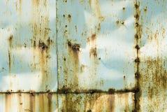 生锈的金属 免版税图库摄影