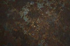 生锈的钢墙壁导致丝毫水和空气和空的温泉 图库摄影