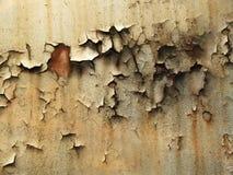 生锈的钢 库存照片