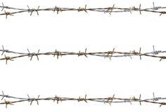 生锈的铁丝网 免版税库存图片