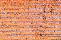 生锈的铁背景 免版税库存图片