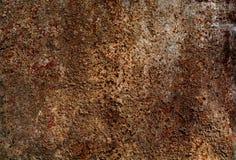 生锈的铁金属背景纹理 库存图片