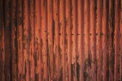 生锈的锌板料背景 库存照片
