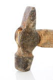生锈的锤子 免版税库存图片