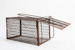 生锈的鼠笼子 免版税库存照片