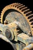 生锈的齿轮老 免版税库存图片