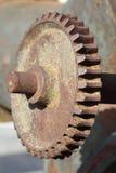 生锈的齿轮 免版税库存图片