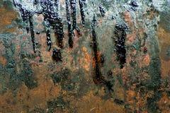 生锈背景的金属 图库摄影