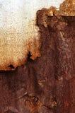 生锈背景的金属 库存图片