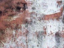 生锈金属的油漆 库存照片