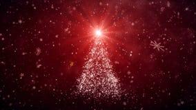 生长新年树 库存例证