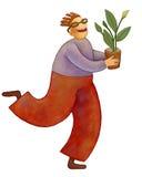 生长植物 库存图片
