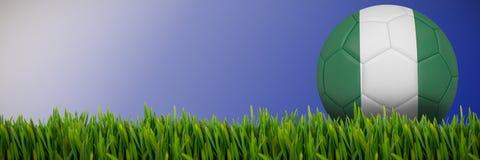 生长草的综合的图象户外 皇族释放例证