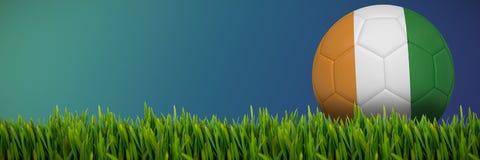 生长草的综合的图象户外 向量例证