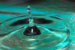 生长从水的水柱子 库存照片