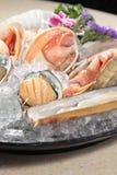 生鱼片日本烹调  免版税库存照片