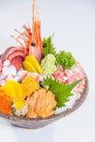 生鱼片日本烹调  免版税库存图片