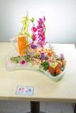 生鱼片日本烹调  免版税图库摄影
