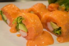生鱼片日本食物 免版税库存图片