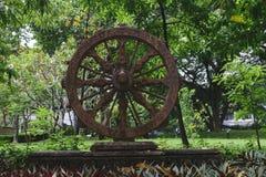 生活公园轮子  库存图片