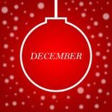 生活刺激行情有圣诞节背景 激动人心的l 免版税图库摄影