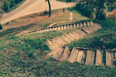 生活台阶 图库摄影