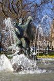 生活喷泉喜悦在伦敦的海德公园 库存图片