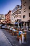 生活在一个小土耳其镇 免版税库存照片