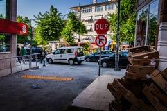 生活在一个小土耳其镇 免版税图库摄影