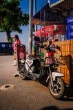 生活在一个小土耳其镇 免版税库存图片