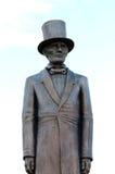 生活强烈地喜欢亚伯拉罕・林肯雕象  免版税库存照片