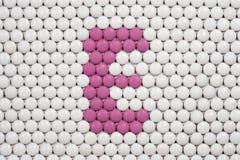维生素E由药片做成 免版税库存照片