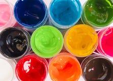 用不同的颜色的明亮的精采颜色背景 库存照片