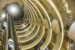 用于商业大厦的被带领的光 免版税图库摄影