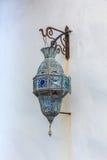用于装饰大厦的传统阿拉伯灯 免版税库存照片