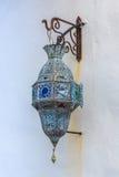 用于装饰大厦的传统阿拉伯灯 库存照片