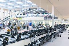 用具中心设备健身体操 免版税图库摄影
