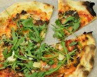 用块菌烹调的薄饼西西里人的意大利 免版税库存图片