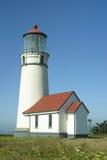 用增白剂擦海角灯塔 免版税库存照片