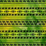 用手被绘的种族样式 水彩纹理 传染媒介缝 向量例证