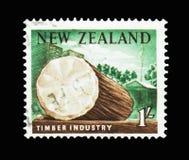 用木材建造产业,摄影Definitives serie,大约1960年 免版税库存照片