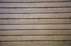 用木材建造的墙壁 图库摄影