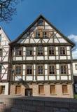 用木材建造的施马尔卡尔登 免版税库存图片