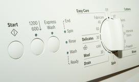 用机器制造洗涤 免版税库存照片
