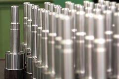 用机器制造的金属 免版税库存图片